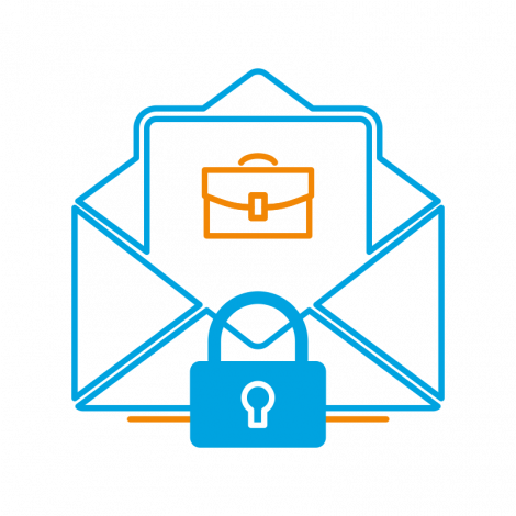 This certificate allows you to prevent business content tampering, encrypt confidential messages, prove the origin of messages from your company, and contact your contractors safely.